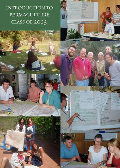 Introduction to Permaculture Class of 2013