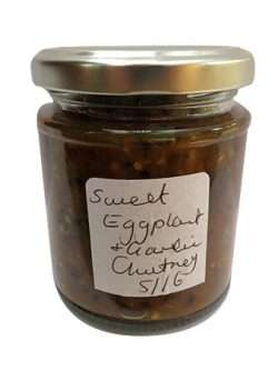 Sweet Eggplant and Garlic Chutney (Medium)