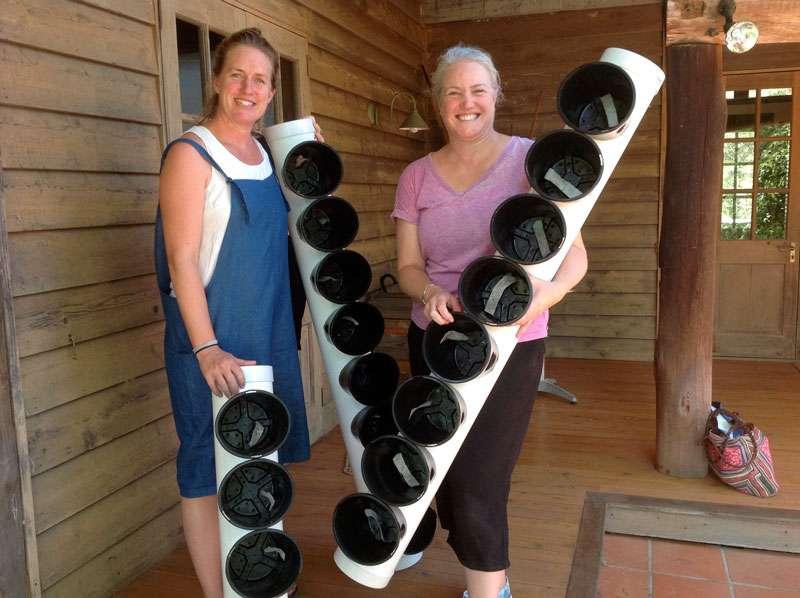 News from our recent Wicking-Pot Garden Workshop